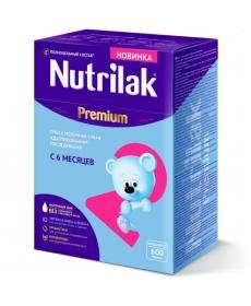 Nutrilak Premium 2 молочная смесь с 6 мес. 600 г.