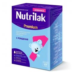 Nutrilak Premium 1 молочная смесь с рождения 600 г.