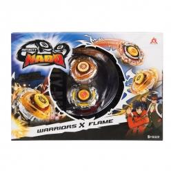Волчки Infinity Nado Warriors and Blast Flame Сплит 2шт 36057