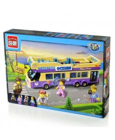 """Конструктор """"Автобус"""" Brick 455 деталей, в/к 41*29*6,5"""