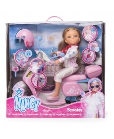 Кукла Нэнси в наборе со скутером (со световым эффектом) 700