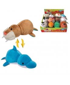Игрушка 1Toy Вывернушка 2в1 Морж - Дельфин 20cm Т10924