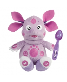 Мягкая игрушка Лунтик кушает с ложечки Мульти-Пульти