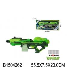 Мегабластер c мягкими пулями 20 с присосками - 201053