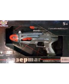 Пистолет лазерный звук/свет EL80098R