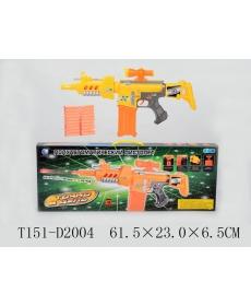 Пистолет с мягк стрелами с прис дальн 8-10м