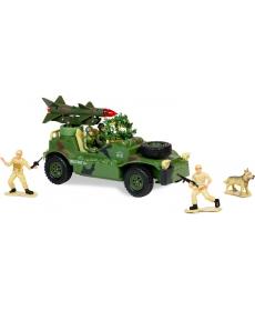 """Р/у игрушка """"Военный джип c ракетной установкой"""""""