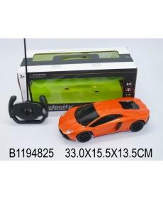 Машинка р/у с пультом управления, цвет: оранжевый, в/к 33*15,5*13,5 см