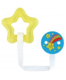 Мир Детства Игрушка-Прорезыватель с водой и прищепкой
