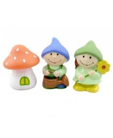 """Мир Детства - Набор игрушек-брызгалок для ванны """"Гномики"""""""