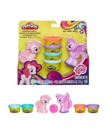 Набор пластилина Play-Doh My Little Pony Пони: Знаки отличия Hasbro B0010