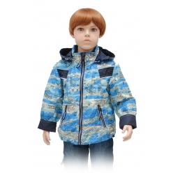 """Ветровка для мальчика (86,92,98,104,110,116) А-28-14 принт """"город"""""""