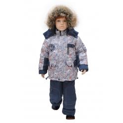 Rusland Комплект для мальчика А-40-13 Зима р. 80,86,92,98