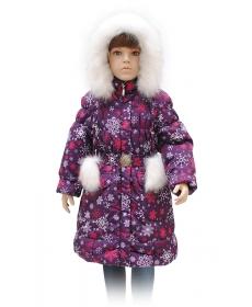 Rusland Пальто для девочки А-65-11 - р. 92,98,104,110,116,122