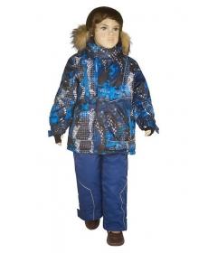 """Комплект для мальчика КМ 15-8 """"Голограмма"""" (116,122,128, 134) Lapland"""