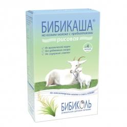 Нэнни Каша 250г Бибикаша Рисовая на козьем молоке