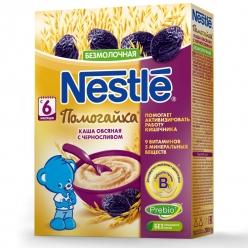 Nestle Каша Безмолочная «Овес, пшеница с черносливом»