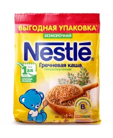 Nestle Каша Безмолочная Гречневая - Гипоаллергенная 1 160 гр.