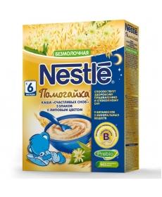 Nestle Безмолочная каша Счастливых снов - 5 злаков с липовым цветом 200г