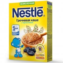 Nestle Каша Безмолочная гречневая каша с черносливом 200 гр.