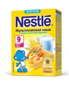 Nestle Каша Молочная Мультизлак/Мед/Абрикос 220г