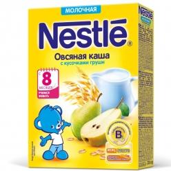 Nestle Каша Молочная Овсянка/Груша 220г