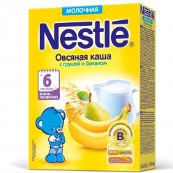 Nestle Каша Молочная Овсянка/Груша/Банан 220г