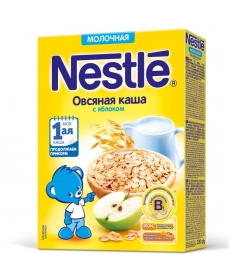 Nestle Каша Молочная Овсянка/Яблоко 220г