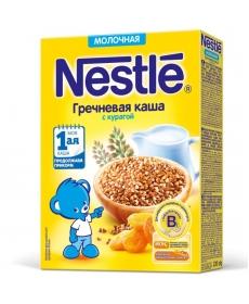 Nestle Каша Молочная гречневая каша с курагой 220г