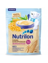 Каша безмолочная Nutrilon кукурузная 180 грамм