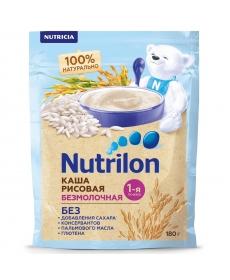 Каша безмолочная Nutrilon рисовая 180 грамм
