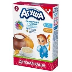 Агуша Каша 200г молочная Пшеница/Тыква