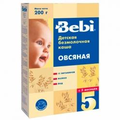 Bebi Каша безмолочная овсяная каша 200г