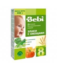 Bebi Каша 200г Б/М Злаки/овощи