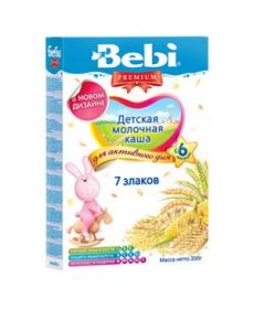Bebi Каша 7 злаков Молочная 200г