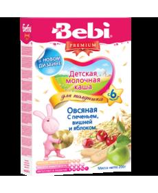 Bebi Молочная Каша - Печенье с вишней и яблоком 200г