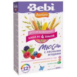 Bebi Каша 200г Юниор Мюсли Лесные ягоды