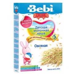 Bebi Молочная Каша Овсянка 250г