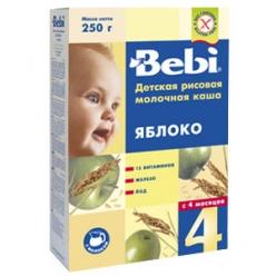 Bebi Молочная Каша Яблоко 250г