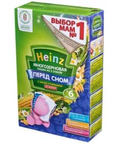Heinz Каша Безмолочная - Многозерновая из 3-х злаков с липой и ромашкой 200г