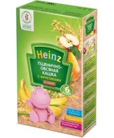 Heinz каша 200г б/м Пшен/Овс/Груша/Банан/Яблоко