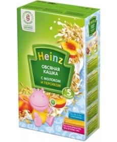 Heinz Каша овсяная с персиком и молоком 250г