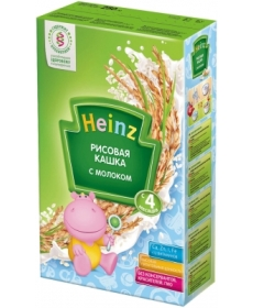 Heinz Каша рисовая с молоком 250г