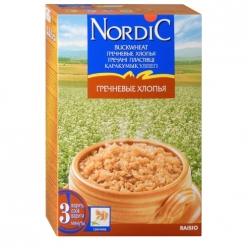Nordic каша 550г Хлопья Гречневые