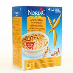 Nordic каша 600г Хлопья Овсяные с Пшеничными отрубями