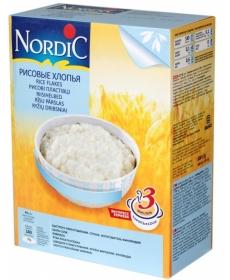 Nordic каша 800г Хлопья Рисовые