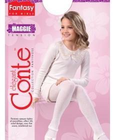 Колготки детские нарядные Conte-Kids MAGGIE Размер 104-110