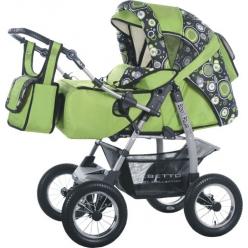Детская коляска BONO POLAR (пласт.) EXCLUSIVE