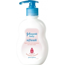 Johnson & Johnson Крем-мыло для умывания лица и рук 250мл Softwash