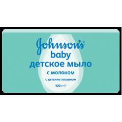 Johnson & Johnson Мыло детское с молоком 100г